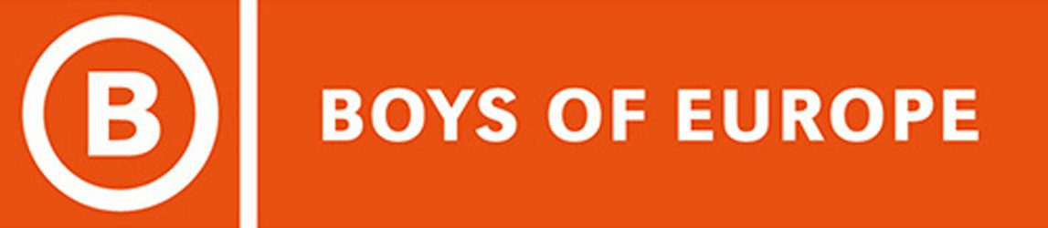 Boys of Europe logo 2010 CMYK
